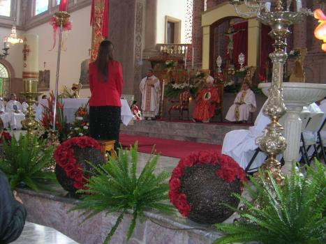 Su primera celebración como obispo auxiliar, en su tierra La Piedad