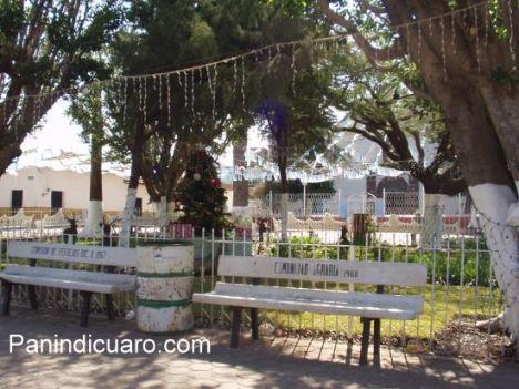 Plaza de Curimeo, municipio de Panindicuaro