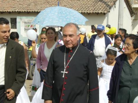 Presidió las celebraciones de la fiesta patronal en honor a la Virgen de Guadalupe