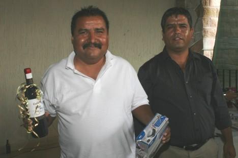 El convivio de los periodistas. Ernesto Reyes y Lalo Ruiz