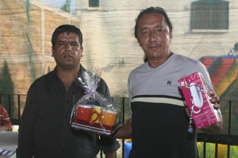 El convivio de los periodistas. Ricardo Rodríguez y Eduardo Ruiz
