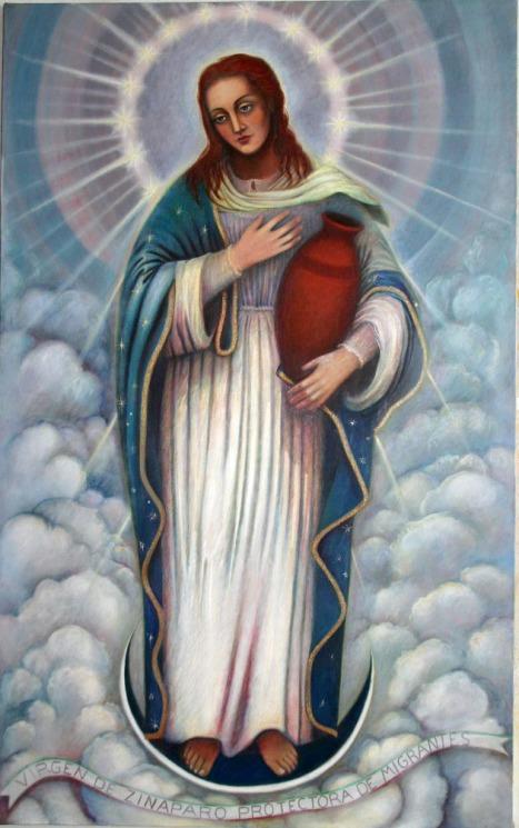 Zináparo. La Virgen de Zináparo, por Rodrigo R. Pimentel