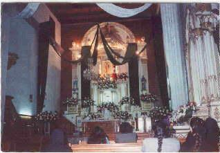 Zináparo, templo de San Juan Bautista