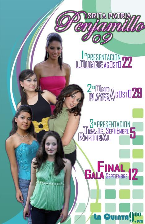 Se ve calendario completo del proceso de selección, que culmina con la coronación de la elegida y sus princesas (foto de presidencia municipal)