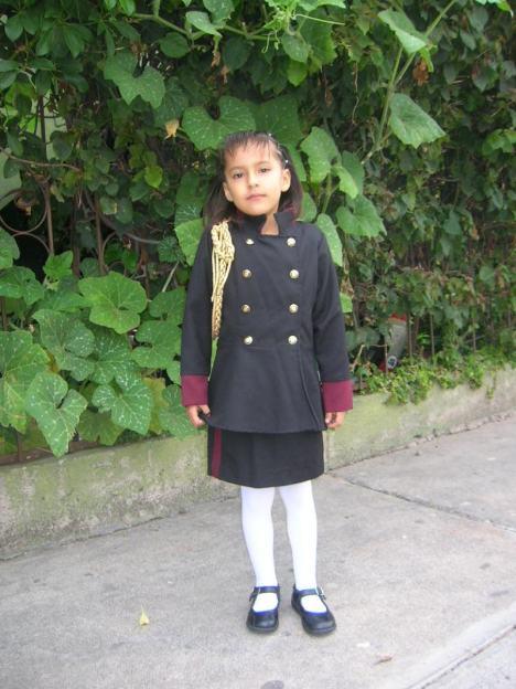 Vania Yael, va al desfile de la ONU