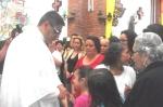 CANTAMISA-Los niños también lo felicitaron