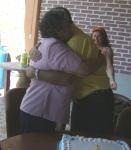 Lupita, felicita al festejado