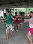 Mujeres de La Piedad. Clases de hawaiano, 8