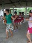 Mujeres de La Piedad, Clases de hawaiano, 7