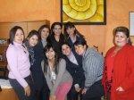Mujeres de La Piedad. Ligia López, 1.Con las chicas