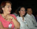 Mujeres de La Piedad. Ligia López, 4. Yathira, Ligia y Ricardo Mora