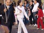 Mujeres de La Piedad. Ligia López, 9. En el desfile del 24 de febrero, con el preciso, dice Ligia