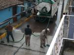 Ario de Rayón. Lavando la calle
