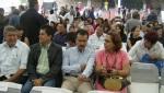 Firma de convenio, 19. Entre los asistentes, Luisa María Calderón de la dirigencia estatal  panista y Javier Rojas, dirigente local