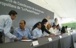 Firma de convenio, 32. Una consulta con el alcalde  piedadense, y otra con el gobernador michoacano