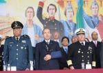 Conmemora el  Presidente Felipe Calderón, la Gesta  de los Niños Héroes