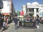 Desfile. Arribo al centro cívico
