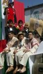 Desfile. Atinada representación de los jovencitos