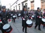 Desfile, banda de guerra femenil