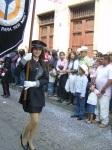 Desfile, linda abanderada de la Universidad