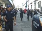 Desfile. Seguridad P ública de La Piedad, apertura