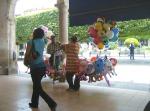 El gremio de los vendedores de globos
