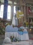 En el templo del señor de la Piedad, la Virgen festejada