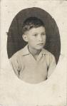 Silviano, niño,en Penjamillo, 1947