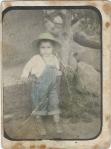 Silviano, niñito, en Ziquítaro, como de 2 años