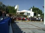 Hacia el lado Sur de la Plaza de la Bandera