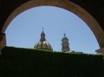 La Piedad. Cielo, torres, arco, cortina viva. 4. Foto smc