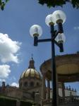 La  Piedad. Nube, torre, lámpara, paloma, 1. Foto smc