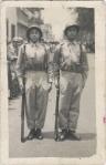 Leoncio Badillo  y Silviano Martínez, conscriptos en Puebla