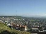 Panorama rumbo a la meseta y al fo ndo cerros de Guanajuato