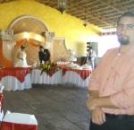 En la boda de patricia y  Jorge, 36. Miguel