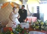 En la boda de Patricia y Jorge, 41. En la mesa de honor