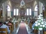 En la boda de Patricia y Jorge, 7, el templo de el Señor de la Pidad, en la boda