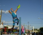 Fiesta en el Infonairt, lucha libre 2