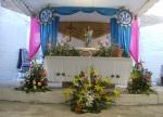 Fiesta en el Invonavit, la Vírgen del Rosario