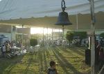 Fiesta en Infonavit, lo que será el atrio en el templo