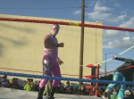 Fiesta en Infonavit, lucha libre 14