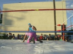 Fiesta en Infonavit, lucha libre 6