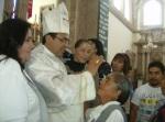 La bendición del nuevo obispo