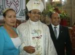 Luego de la misa, fotos para el recuerdo