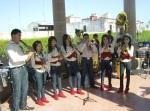 Parte de la banda Estrellas, de Río Grande