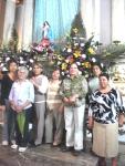 Grupo de Liturgia de Ario: Chuy Hernández, doña Domi Rodríguez, Benita Toledo, Amparo Solís Barragán, Lucila Bueno, Abelia Rocha y Mago Hernández
