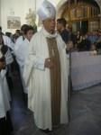 Monseñor Alberto Suárez Inda, arzobispo de Morelia, llega al santuario