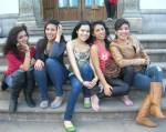 Florecitas en La Piedad, 25. Cristina, Brenda, Sarai, alejandra y Madelein, desde Arandas, Jalisco, visitan La Piedad